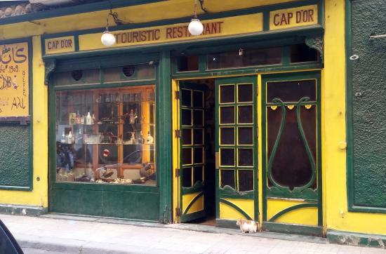 Cap D'or: Exterior