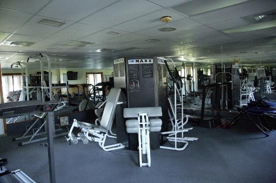 Front Royal, Βιρτζίνια: Fitness room in Clubhouse