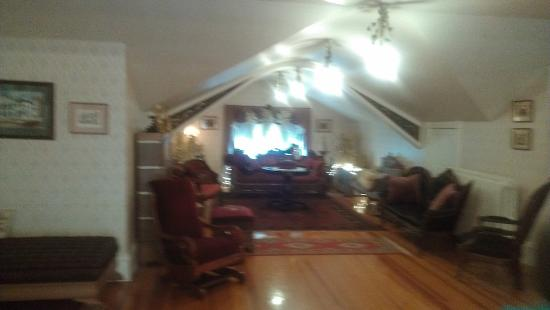 Abilene, KS: Upstairs sitting room where orchestra played