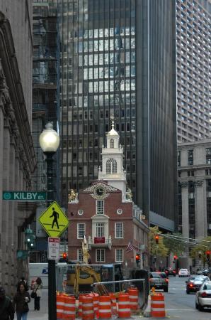 Boston Harbor Hotel: small church