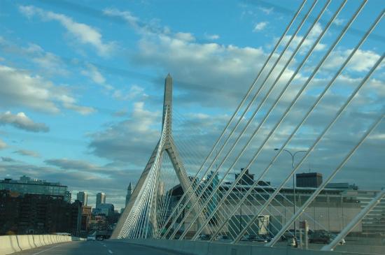 Boston Harbor Hotel: the bridge