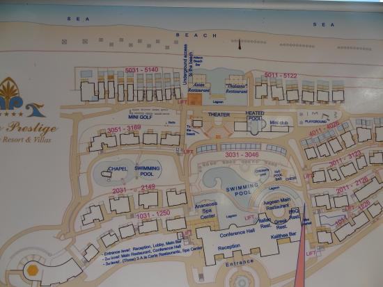Lachania, Grecia: Hotel Plan