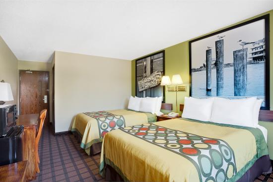 Super 8 Chesapeake : Double Beds