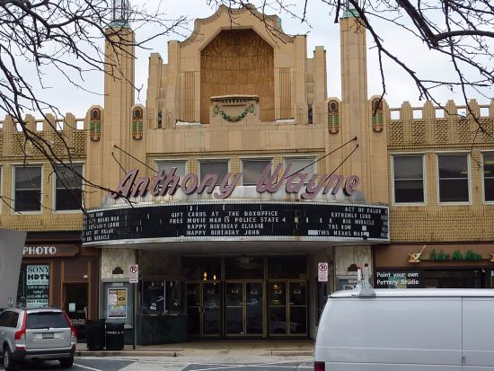 Reel Cinemas Anthony Wayne Theater: Anthony Wayne Theatre in the heart of Wayne on Lancaster Avenue