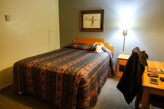 Clayton, NM: Inside our room. Super clean! Cute elephant!