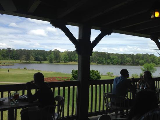 Gardens Restaurant at Callaway Gardens: What a view