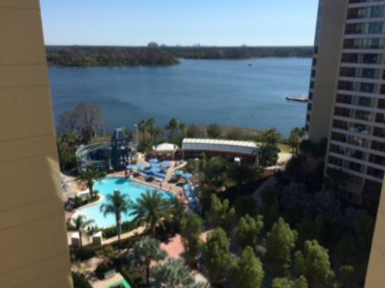 Bay Lake Tower at Disney's Contemporary Resort: View from our room at Bay Lake Tower
