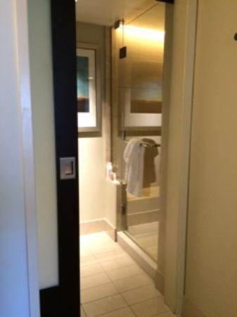 Bay Lake Tower at Disney's Contemporary Resort: Seperate shower in Master bath