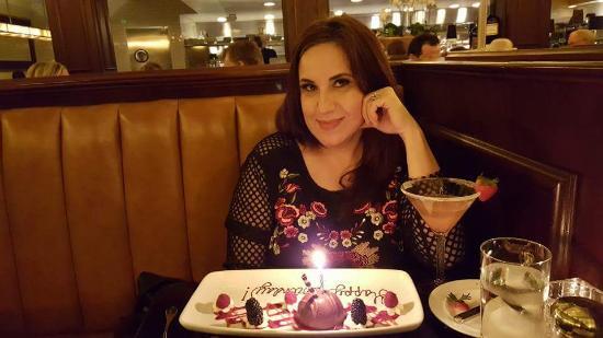 Mason Street Grill: Happy Birthday treat