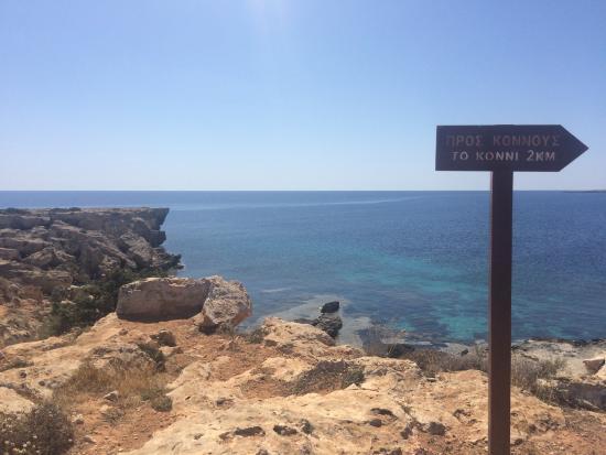 Famagusta District, Cypern: Cyklop Cave, popularne miejsce nurkowe