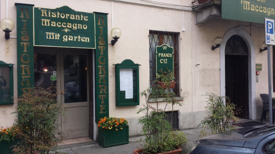 Maccagno, Italien: vista esterna