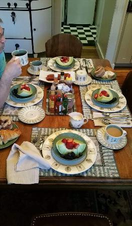 Brewers House Bed and Breakfast : Absolutely divine dining experience!