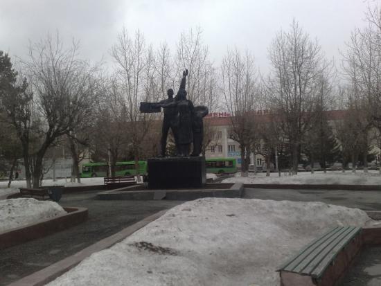 Сквер Льва Корнеева