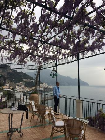 Santa Caterina Hotel: Veranda