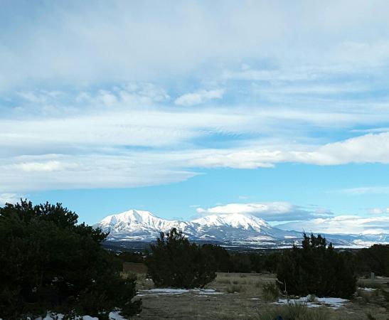 Lathrop State Park: Spanish Peaks from Loop D