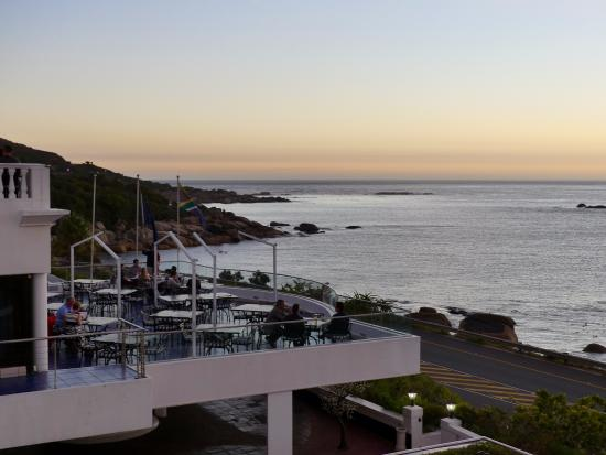 Camps Bay, Νότια Αφρική: View from balcony of Suite 210
