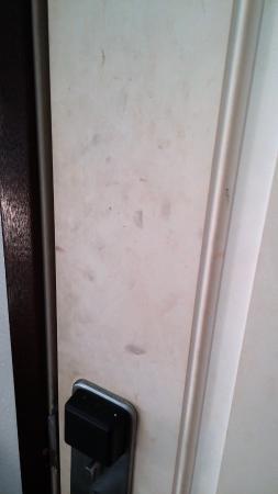Long Beach, WA: Door inside our room