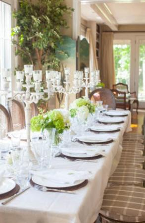 Hidden Valley Bed & Breakfast: set up for special event