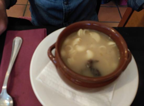 Riells del Fai, Spanyol: Autentica sopa casera.