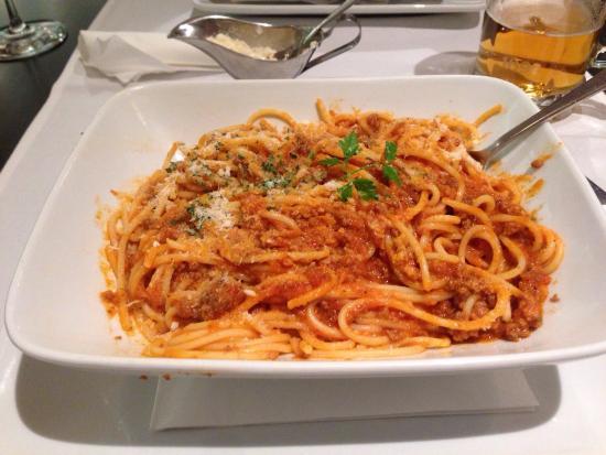 Spaghetti bolognese picture of mezzanave dubrovnik tripadvisor