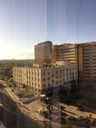 Hyatt Regency Albuquerque: VIew towards a courthouse