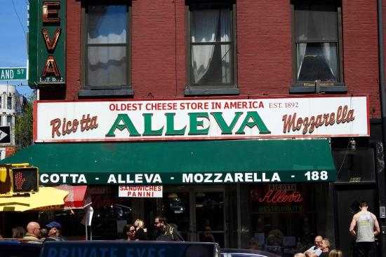 oldest cheese store located in little italy nyc picture of alleva rh tripadvisor com