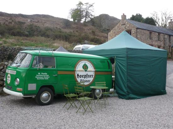 Eskdale Campsite: Coffee and Smoothies