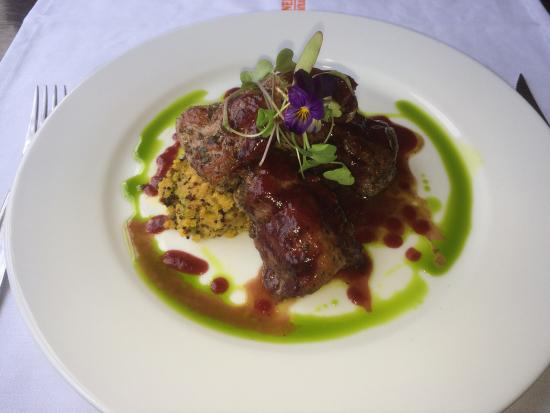 Simply spectacular!!! grilled alpaca with quinua... Top notch!! I'd definitively recommend it to