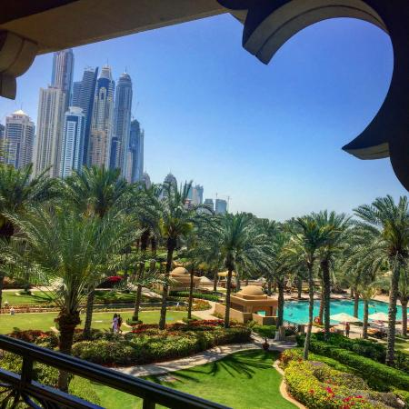 Residence & Spa at One&Only Royal Mirage Dubai : View from suite 46.
