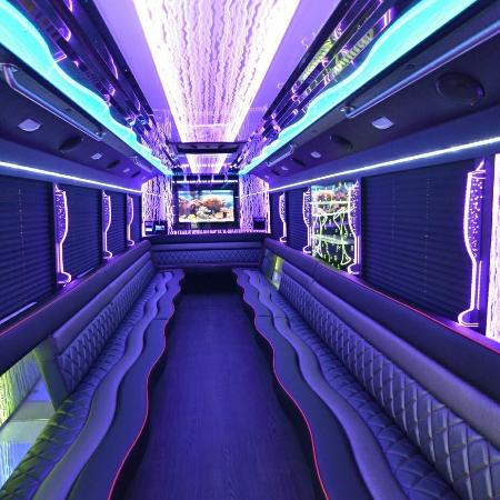 Miamisburg, Огайо: Wright Party Bus & Limo