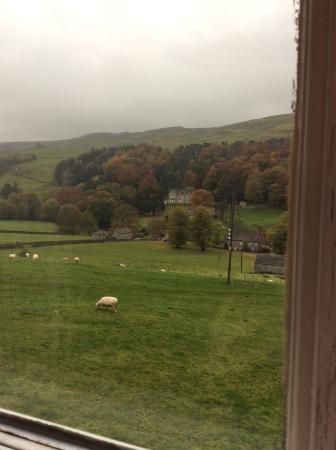 Arkengarthdale, UK: View from the window, would be even better on a lovely spring day