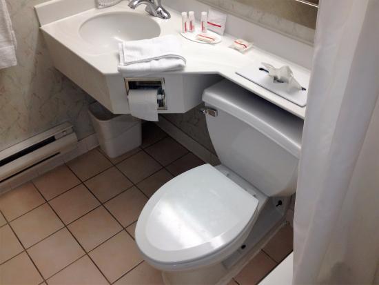 Vineland, Nueva Jersey: toilettes et évier