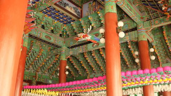 Cheonan, เกาหลีใต้: Another view inside the temple