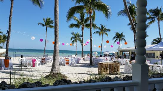Southernmost Beach Resort With Wedding Set Up Hours Before The Party Until