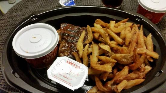Swiss Chalet Rotisserie & Grill: Juicy BBQ Ribs....Lovely