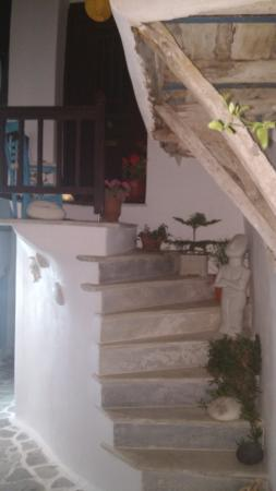 Old Town: In love with Naxian stairs!