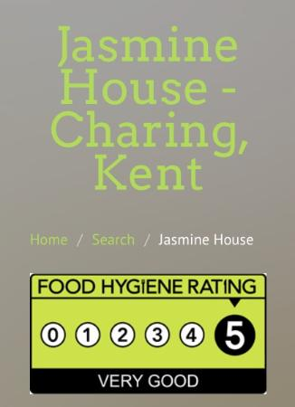 Charing, UK: Hygiene rating