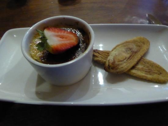 Deddington, UK: Dessert