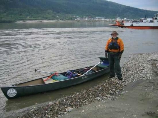 Eagle, AK: 2005 and 2007 canoe paddle on the Yukon.