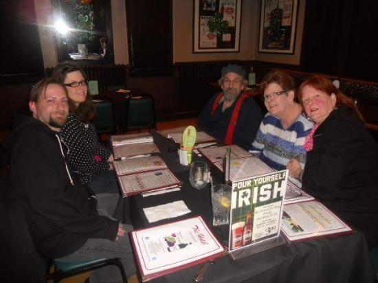 The family celebrating March Birthdays at the Newfoundland Hotel