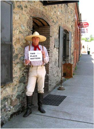 An invitation to learn about the early days in Placerville.