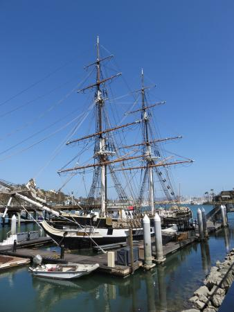 The tall ship at Dana Point
