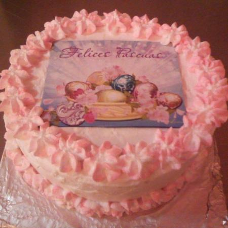 Panaderia & Heladeria Princesa Bakery & Ice Cream Parlor: Just 1 of the many cakes made to order.