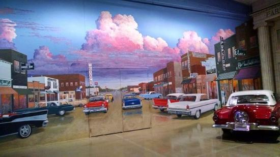 Okoboji, IA: A portion of the mural