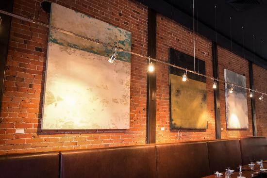 Ketchum, ID: Original works of art displayed.
