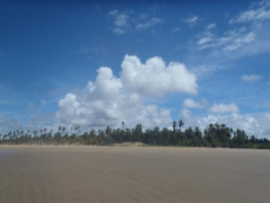 Penedo, AL: Praia do Peba, sempre calma!