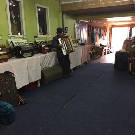 Chonchi, ชิลี: Hermoso museo del acordeon