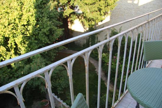 Hotel de Sainte Croix : Balcony