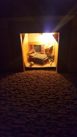 Sisters, Oregón: The room night light.