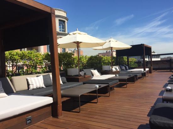 Un desayuno maravilloso picture of terraza la isabela for La terraza barcelona